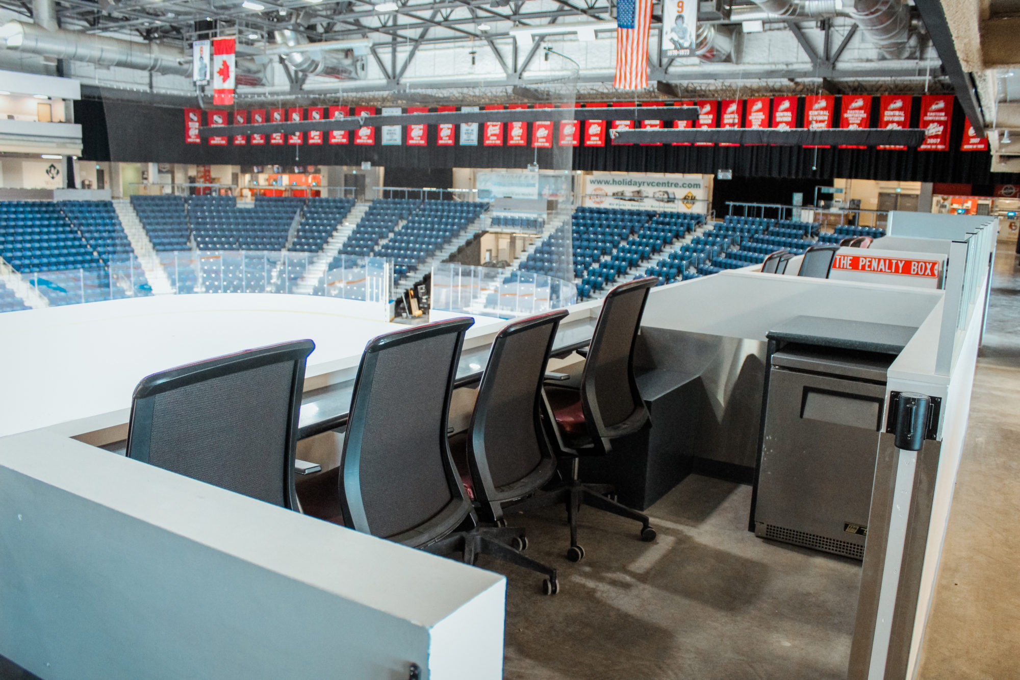 Canalta Centre Loge Seats