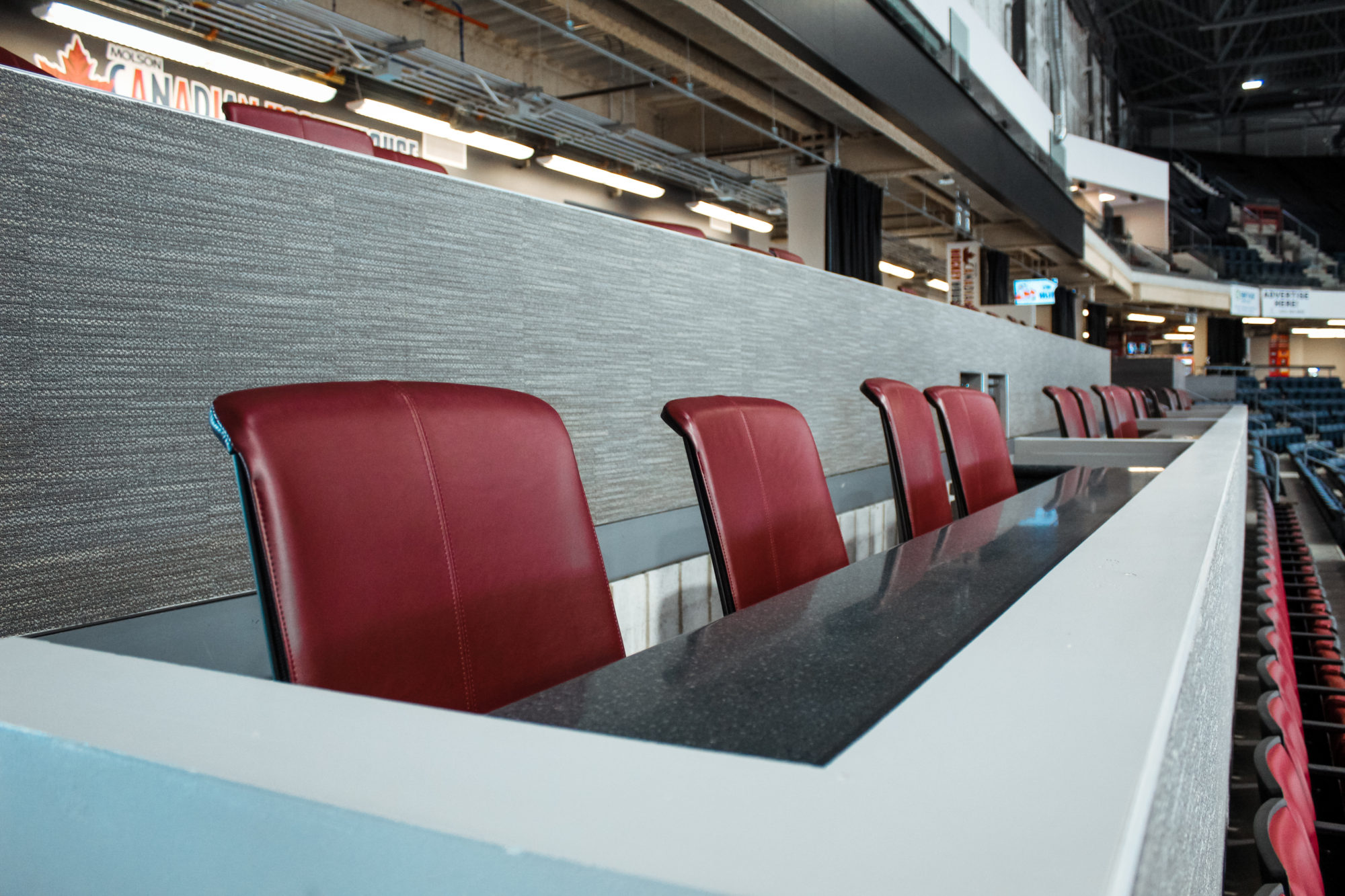 Canalta Centre Interior Loge Seats